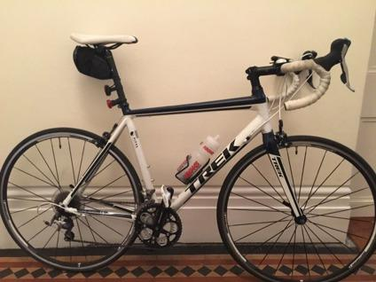 .Trek 1.5 H2 Road Bike - + Spare wheel and Cateye
