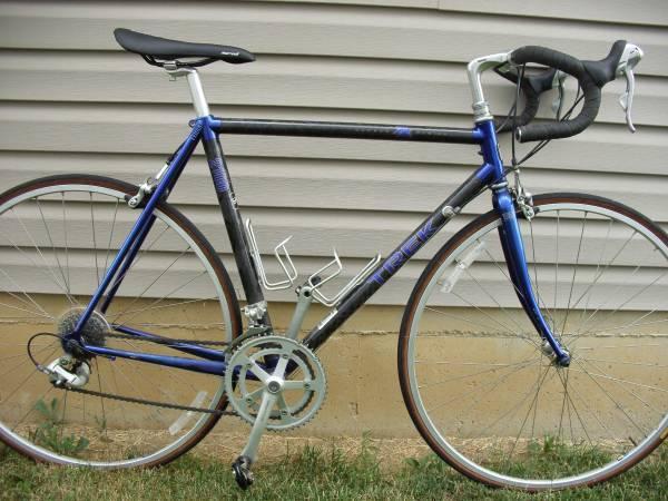 Trek 2100 ZX Carbon Fiber Road Bike      54cm - $450