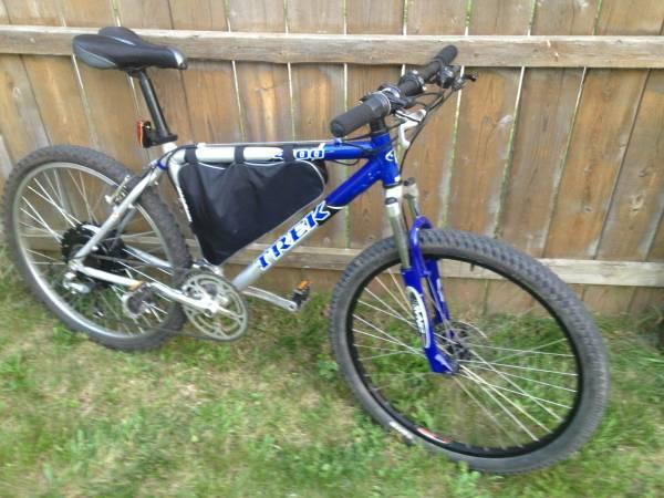 Trek 4100 electric mountain bike size 18 medium for for Do you need a license for a motorized bicycle
