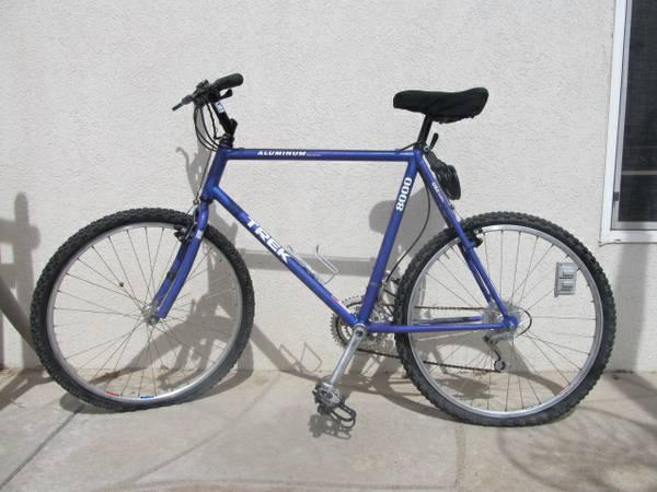Trek 8000 Aluminum Bike Blue Bicycle For Sale In Aurora
