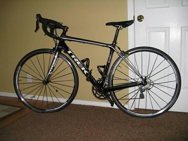 Trek Madone 3.1 with a Cycleops trainer - $1100