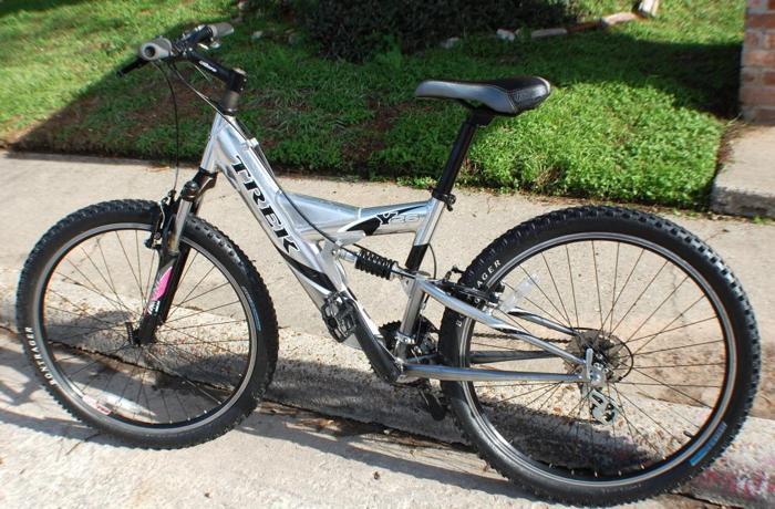 Trek Y26 Full Suspension 17 Quot Mountain Bike 5 7 Quot 5 11