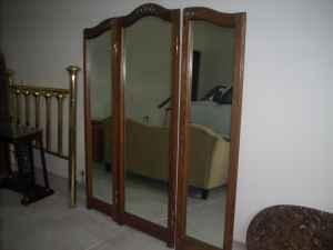 tri fold mirror west reflection for sale in wichita kansas classified. Black Bedroom Furniture Sets. Home Design Ideas