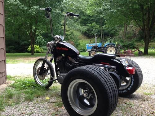 Trike Harley Sportster Custom Hot Rod - $9800 (Waco)