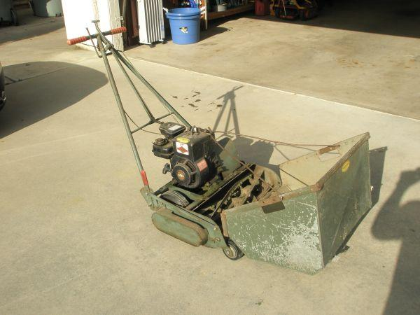 Trimmer Lawn Mower Front Throw Will Trade Visalia