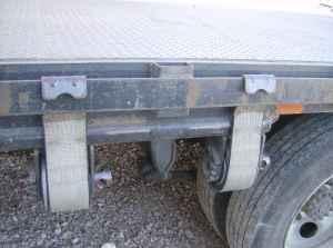 Truck Body Supreme S 20 Flatbed Body Diamond Plate