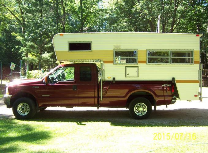 Truck Camper 1978 Wilderness For Sale In Montague