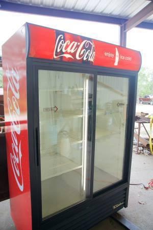 True Commercial CocaCola Refrigerator HUGE DISCOUNT