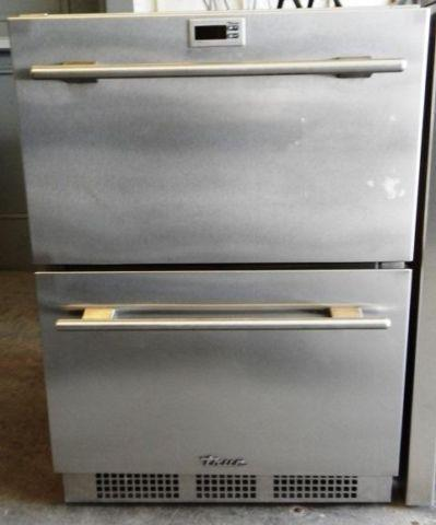 True Under Counter Indoor Outdoor Stainless 2 Drawer