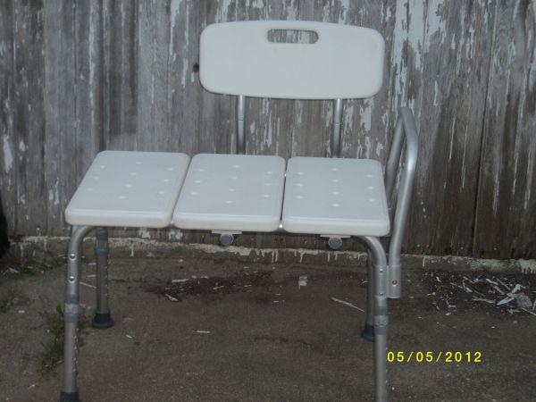 Tub Transfer bench for Elderly or handicapped/injured -