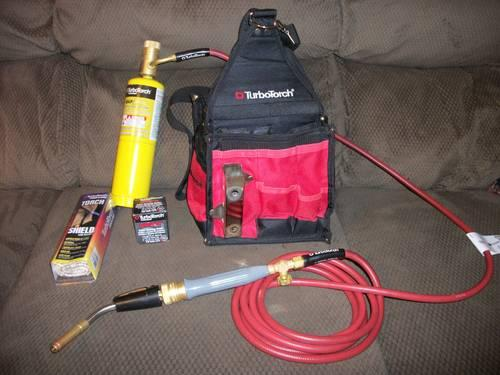 Turbo Torch 0386/ /1397/Deluxe self-lighting Portable Torch kit
