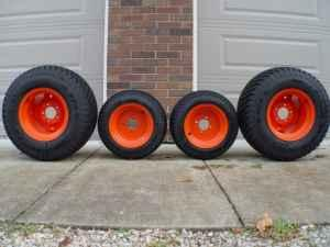 The Front Turf Tire Size for the Kubota B7800 | eHow.com