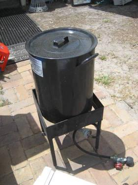 Turkey Fryer Outdoor Propane Gas Cooker Amp Big Kettle