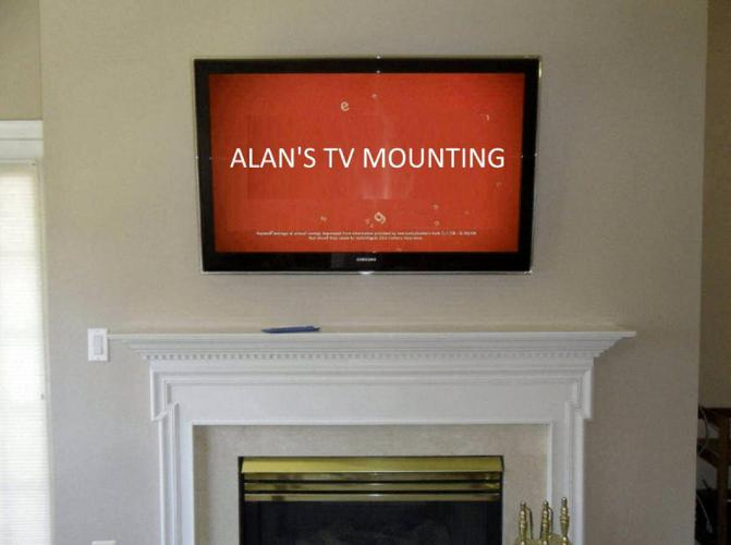 TV Mounting Service $150 Total Price-Wires in