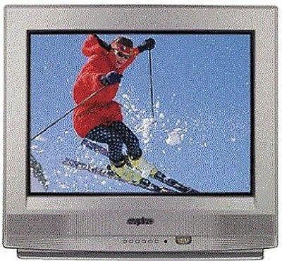 TV-SANYO-24 COLOR-wREMOTENEW 3-SHELVE ROLLING STAND-$29