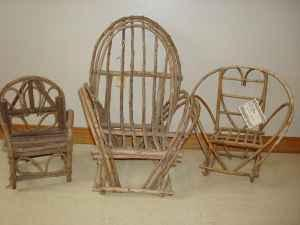 Twig Or Wood Doll Size Furniture Spokane Valley For Sale