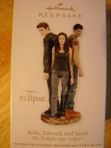 Twilight Christmas Tree Ornament. New. ship avail