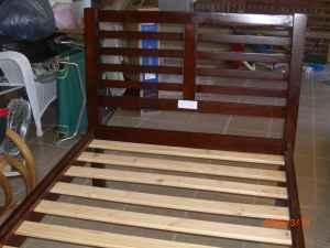 Twin Bed W Headboard Foot Board Amp Side Rails