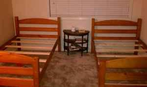 Twin beds for sale - $130 (Topeka, KS)
