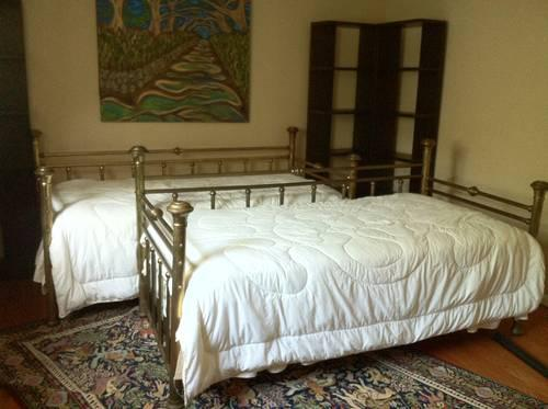 Twin Brass Day Beds