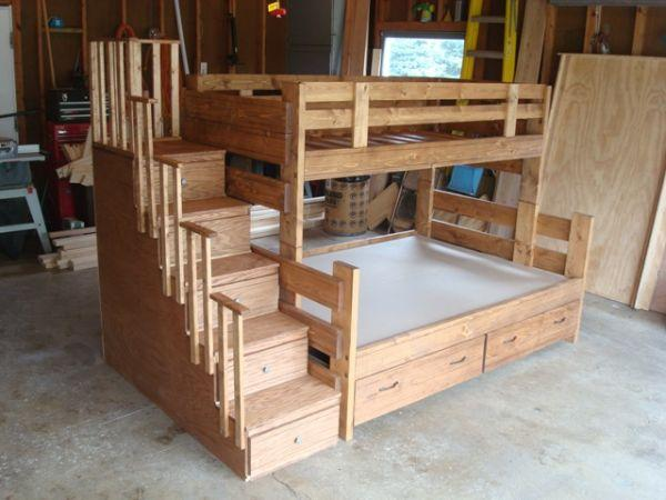 Twin over full bunk beds for Sale in Mankato Minnesota