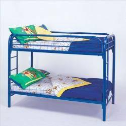 Twin Over Twin Metal Bunk Bed for Sale in Poughkeepsie
