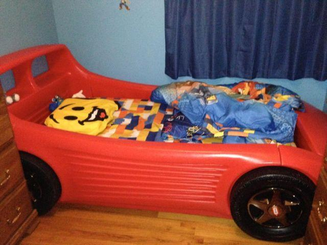 Race Car Twin Bed: Twin Race Car Bed For Sale For Sale In Deer Park, New York