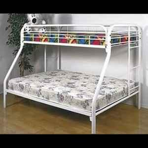 Twin Over Full Bunk Bed Mattress Set