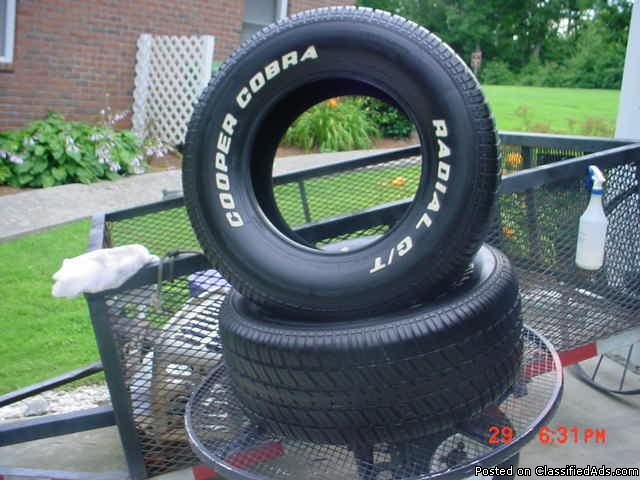 "Tire Sale Raleigh Nc >> TWO 15"" 10"" WIDE COOPER COBRA GT TIRES for Sale in Monroe, North Carolina Classified ..."