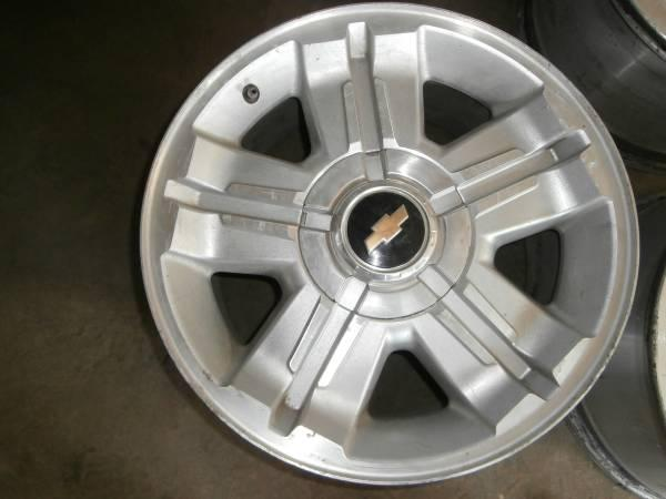 Two X Newer Chevy X Lug Alum Rims For Spare Americanlisted on Dodge Center Caps For Rims
