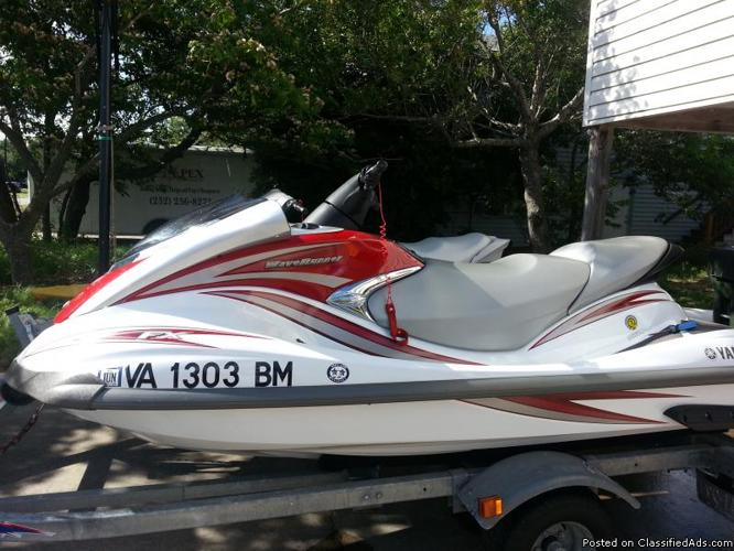 Two 2007 yamaha jet ski and trailer 2007 jetskis for Yamaha jet ski dealer
