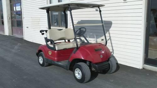 Two 2008 Yamaha Golf Carts