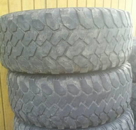 two 33-12.50-R17 mud tires - $20