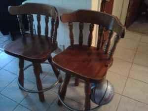 Two Bar Stools - $45 (Bloomington)