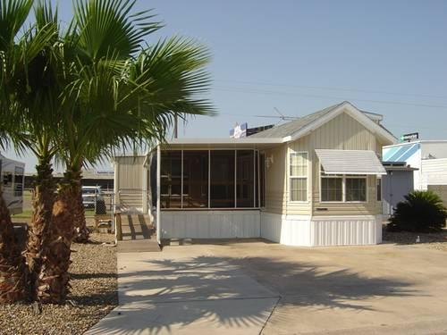 Two Bedroom Mobile Home In Secure Park For People 55 And Over For Sale In Brownsville Texas