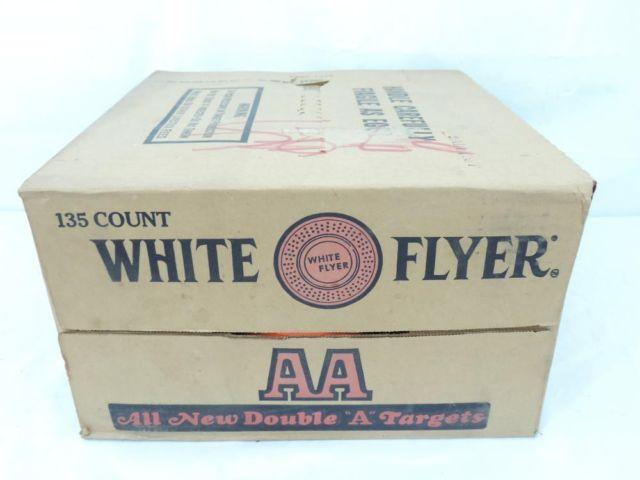 Two Boxes White Flyer AA Skeet Shooting Clay Targets