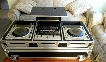 TWO CDJ 800 MK2 / Case / Mixer All For