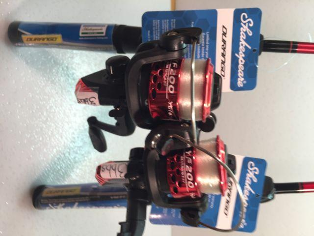 Two Durango UL Spinning Rod and 200 (3 bb) Reel Combos