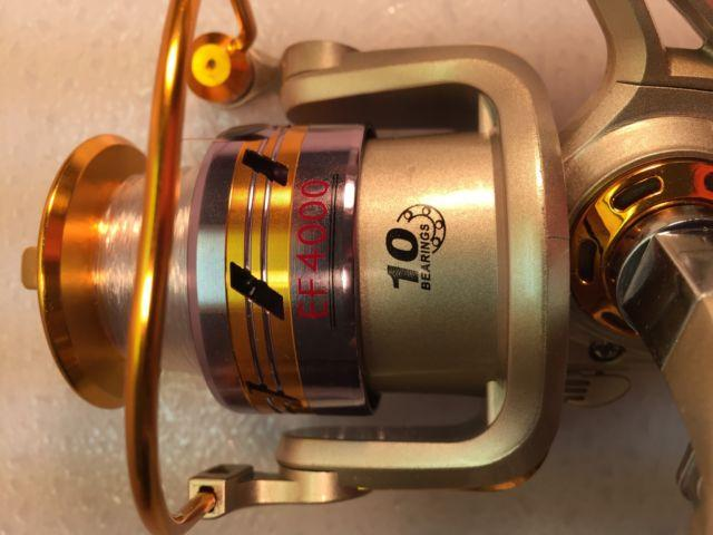 Two EF4000 (10 bb) Spinning Reels