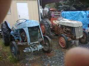 Two Ford 8n Tractors both for - $1850 (Laytonville)