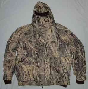 Two Gamehide Hunting Jackets: Shell and Liner Flyway