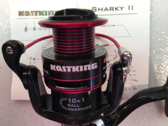 Two KastKing Sharky II Waterproof Spinning Reels