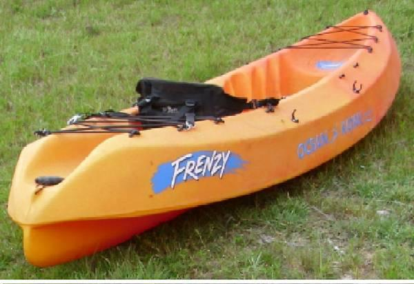 Two kayaks for sale each for sale in crestview florida for Used fishing kayak sale
