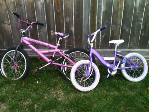 Bmx Bikes For Sale In Tacoma Wa Two kids bikes girls bmx or