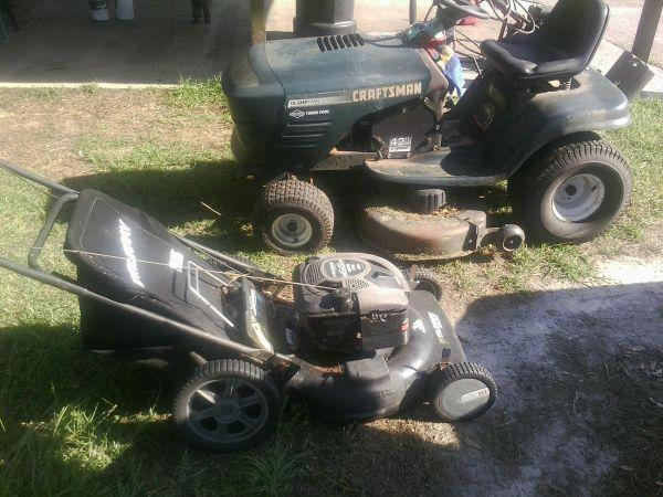 Two Lawn Mowers - $425 (Pembroke)