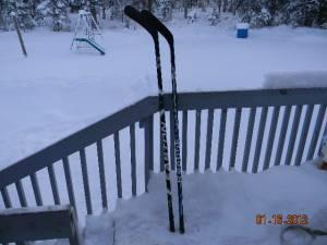 Two Left Handed Hockey Sticks - $40 OBO Kasilof
