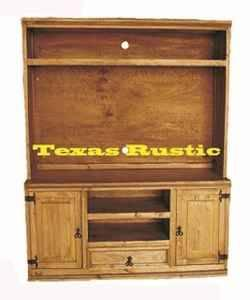 Delicieux TWO PC ENTERTAINMENT CENTER   $528 (RUSTIC