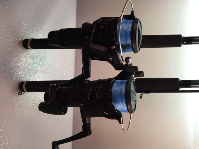 Two Shimano 7' FXS Spinning Rod & IX4000R Spinning Reel