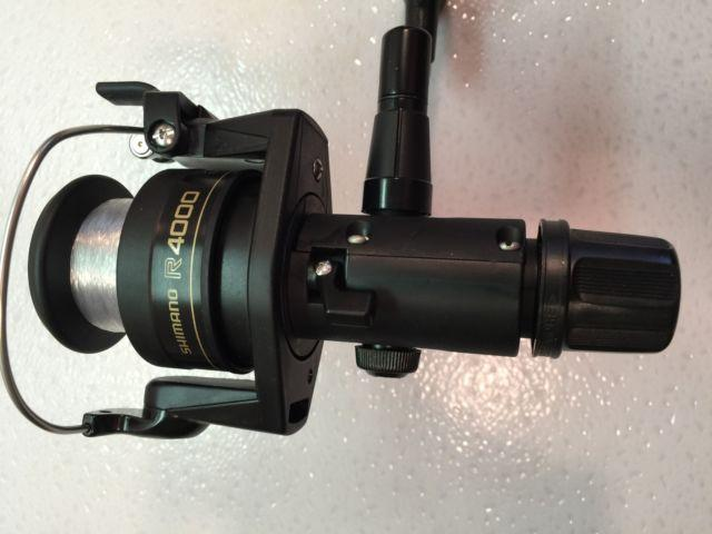 Two Shimano IX4000R Spinning Reels