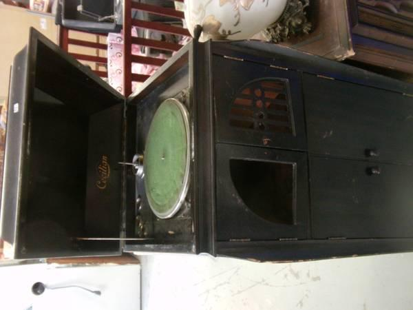 TYS - Cecilian Victrola Record Player - $75